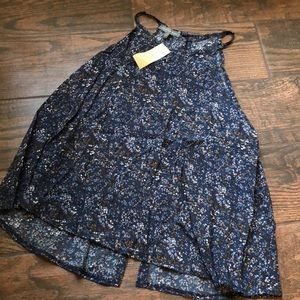 NWT Don't Ask Why Halter w/ open back
